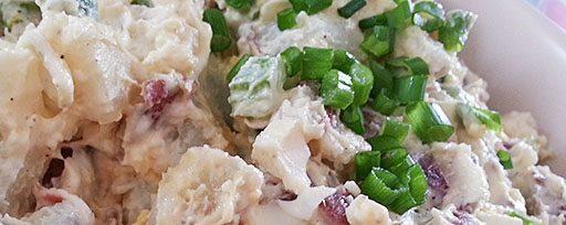Salade de pommes de terre red Skin